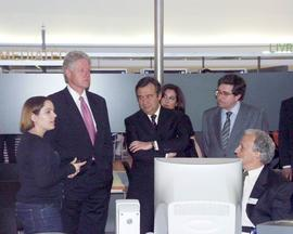 Visita de Bill Clinton